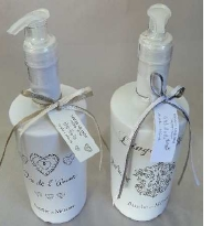 Amelie Liquid Soap Que De Lamour HEART Fragrance-french-range-Tessa Mae's with Attitude | Gifts and Homewares | Mapua NZ