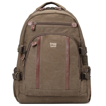 Classic Backpack Large - Brown-gift-ideas-Tessa Mae's with Attitude | Gifts and Homewares | Mapua NZ