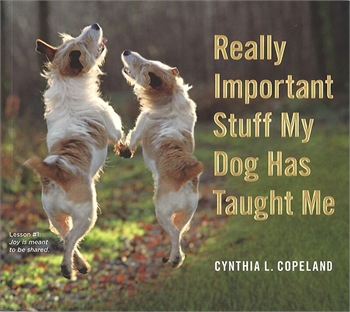 Relly Importatnt Stuff My Dog Taught Me Less Bark More Wag-book-Tessa Mae's with Attitude | Gifts and Homewares | Mapua NZ