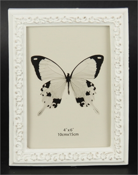 Daisy Edge Antique White 6x4-home-decor-Tessa Mae's with Attitude | Gifts and Homewares | Mapua NZ