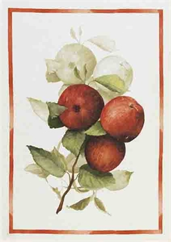 Apples Italian Linen Tea Towel-Tessa Mae's with Attitude | Gifts and Homewares | Mapua NZ