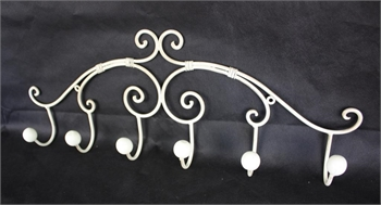 6 Hook Wall Rack-home-decor-Tessa Mae's with Attitude | Gifts and Homewares | Mapua NZ