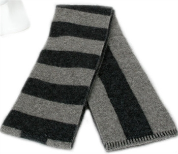 Directional Stripe Scarf Silver-gift-ideas-Tessa Mae's with Attitude | Gifts and Homewares | Mapua NZ