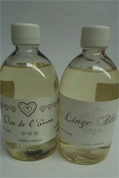 Amelie Liquid Soap Refill Linge Blanc WHITE Fragrance-french-range-Tessa Mae's with Attitude | Gifts and Homewares | Mapua NZ